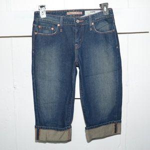 Lucky brand womens capris size 8 -2098-